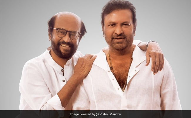 'From Sharing One By Two Teas' To Now, Rajinikanth And Mohan Babu Are The 'Original Gangsters'