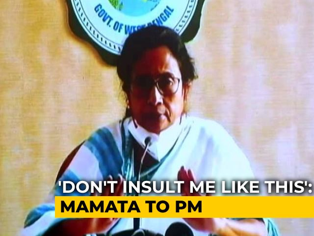 Video : You Cannot Digest Your Defeat, Says Mamata Banerjee To PM