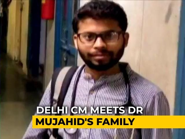Video : Family Of Delhi Doctor Who Died Of Covid Given Rs 1 Crore
