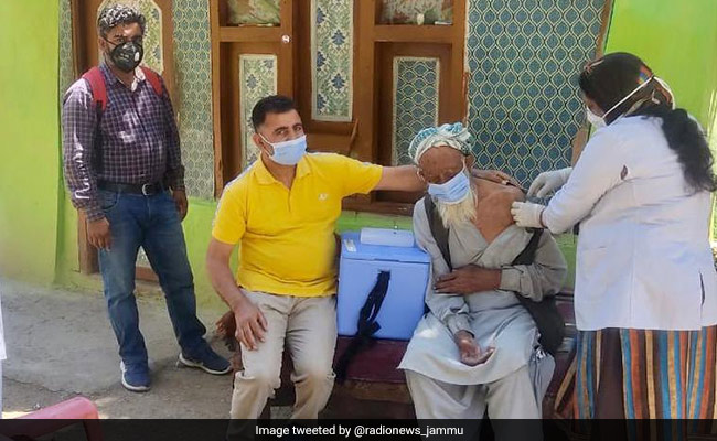 In Jammu And Kashmir, 118-Year-Old Feels 'Protected' After COVID-19 Jab