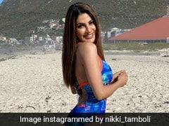 Khatron Ke Khiladi 11: Cape Town में  दिखा Nikki Tamboli का ग्लैमरस अवतार, देखें तस्वीरें