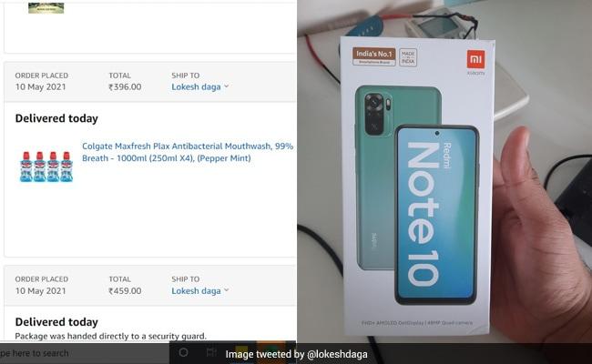 Mumbai Man Orders Mouthwash On Amazon, Gets Smartphone