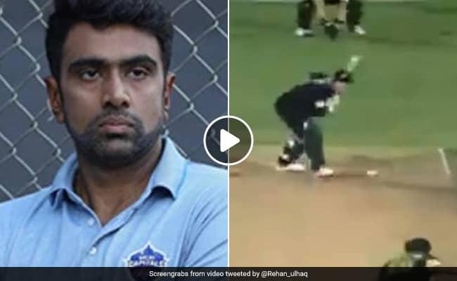 Ashwin reacts to Wasim Akram reverse swinging balls on Twitter Watch video