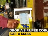 Video : Drop A Coin, Get a Mask