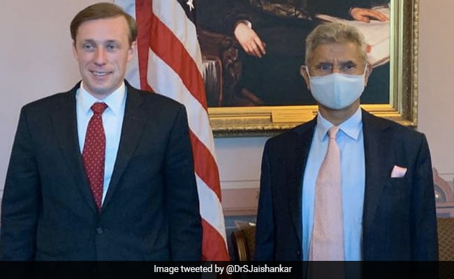 S Jaishankar Meets US NSA Jake Sullivan To Review India-US Partnership