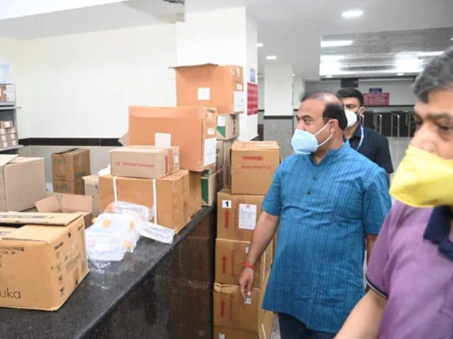 Video : Assam Chief Minister's Late-Night Hospital Visit Linked To New Covid Plan