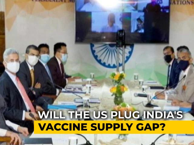 Video : Foreign Minister S Jaishankar, US Secretary Of State To Discuss Covid, Quad