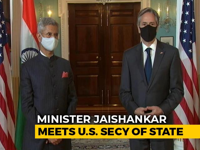 """Video : """"Will Never Forget"""": US State Secretary On India's Help During Covid"""