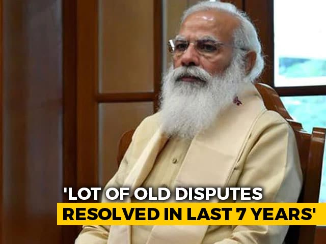 """Video : """"Achievements Of Past 7 Years Are Those Of The Nation"""": PM Modi"""
