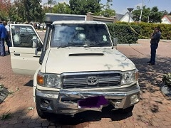 Armoured Vehicle Driver Avoids Cash-In-Transit Heist Attempt In South Africa