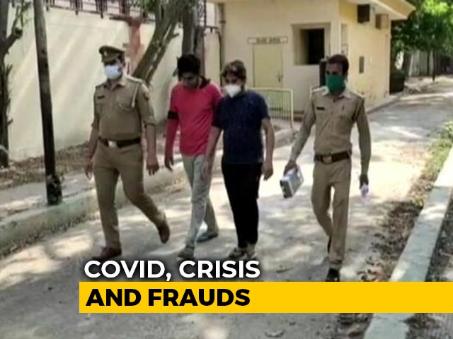 Video : How Scammers Are Duping Desperate Covid Patients