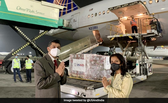US Delivers 1,25,000 Remdesivir Vials To India, 4th Covid Relief Shipment