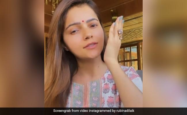 Abhinav Shukla did something angry to Rubina Dilaik, Neha Kakkar and Rohanpreet said this in a comment - watch video