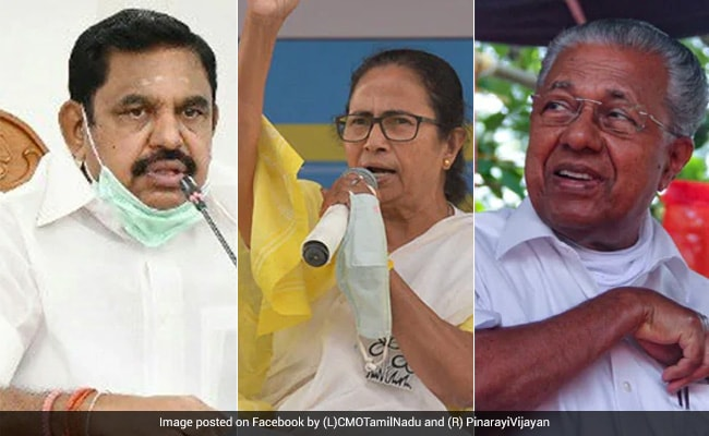 "Election Results 2021 Live Updates: Leaders Congratulate ""Tigress"" Mamata Banerjee As Trends Show Big Win In Bengal"