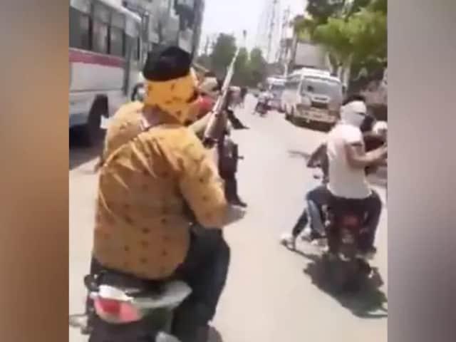 Video : Bikers Ride Through Madhya Pradesh Town, Firing Indiscriminately
