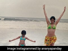 Ananya Panday's Throwback Post Is Proof That She Got Her Love For Bikinis From Her Mama