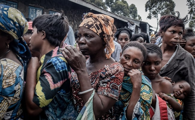 Mass Exodus In Democratic Republic Of Congo After Volcano Eruption Scare