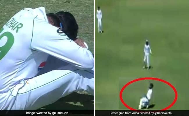 Azhar Ali couldnt believe that he took a blinder catch of batsman Roy Kaia watch viral video Zim vs PAK 2nd test