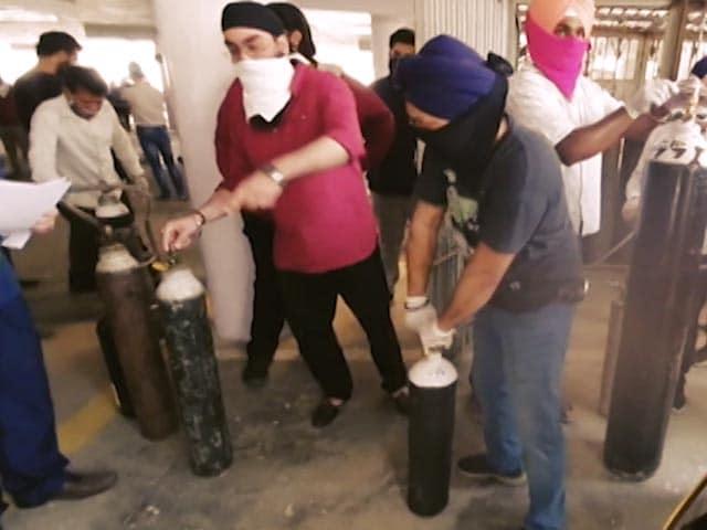 Video : <i>Dil Se Sewa</i> Oxygen <i>Langars</i>: Contribute Now To Help India Breathe