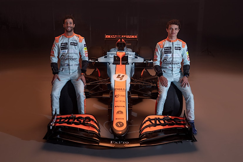 So far Ricciardo has been handily outperformed by his younger teammate