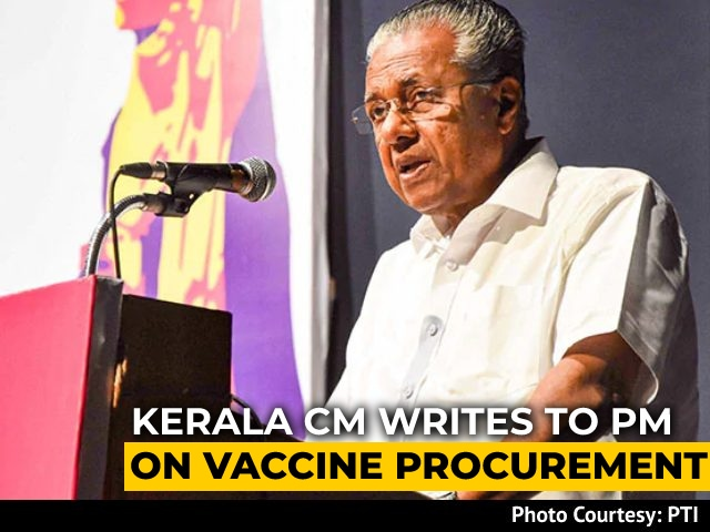 """Video : """"There Should Be One Global Tender For Vaccine"""": Kerala Chief Minister"""