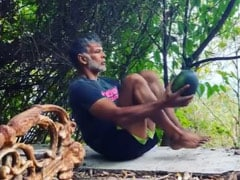 "Milind Soman Spent ""36 Hours Without Gadgets."" A Watermelon Was Involved"
