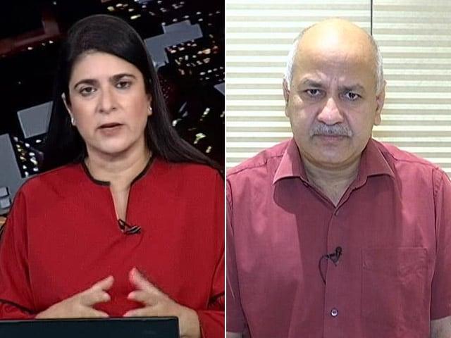 Video : Delhi's Deputy Chief Minister Speaks To NDTV On Oxygen Shortage