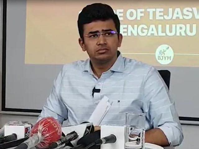 """Video : BJP's Tejasvi Surya Avoids Key Questions On Communal Slur In """"Bed Scam"""""""