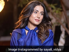 For <i>Patthar Wargi</i> Teaser, Hina Khan Glams Up Like A True Blue Princess