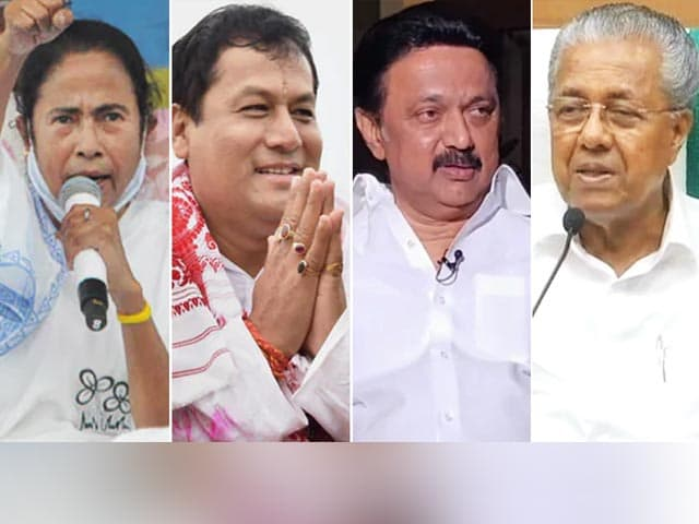 Video : Trinamool, DMK Winning; BJP In Assam, Left For Kerala: Leads
