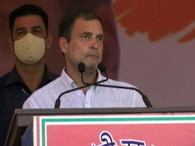 """Video : """"Only The Beginning, I Fear"""": Rahul Gandhi's Covid Warning To PM Modi"""