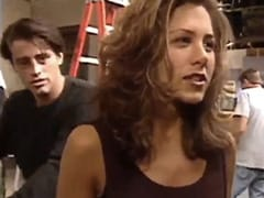 The One Where Jennifer Aniston's <i>F.R.I.E.N.D.S</i> Co-Stars Interrupt Her Interview, One By One. Circa 1994