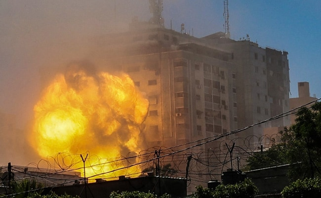 'Will Not Be Silenced': Qatari Broadcaster Al Jazeera After Gaza Office Destroyed