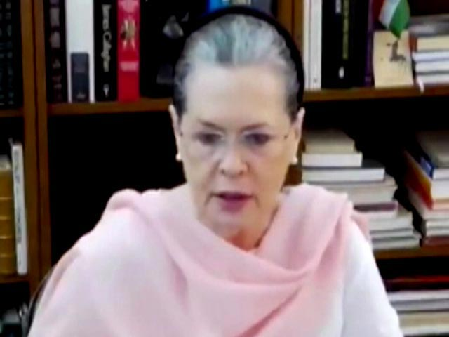 """Video : """"Need To Put House In Order"""": Sonia Gandhi To Congress On Poll Results"""
