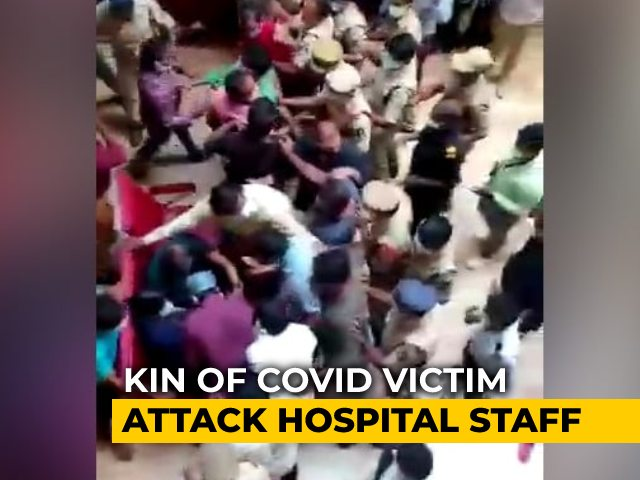 Video : Case On Hyderabad Covid Victim's Family For Livestreamed Doctor Assault