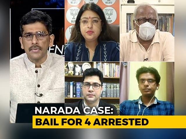 Video : Bengal Showdown: Centre Vs State On Narada Investigations