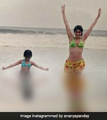 Ananya Panday Gets Her Love For Bikinis From Her Gorgeous Mama