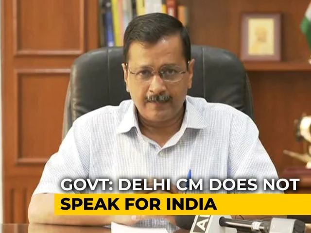 """Video : """"Arvind Kejriwal Worried About Kids, BJP About Singapore"""": AAP Hits Back"""