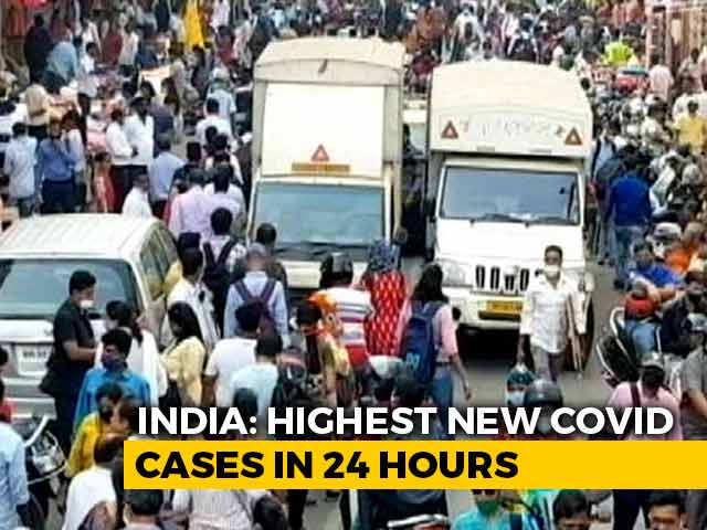 Video : With 4.14 Lakh Fresh Covid Cases, India Sees Biggest Daily Surge