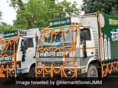 "Jharkhand Launches ""Sanjeevani Vehicles"" To Pump Oxygen To Hospitals"