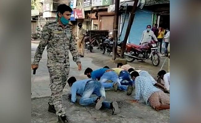 In Bihar, Covid Lockdown Violators Made To Crawl, Perform Frog Jumps