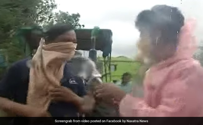 Odisha Reporter Asks Man Why He Stepped Out During Cyclone Yaas. His Reply Is Viral