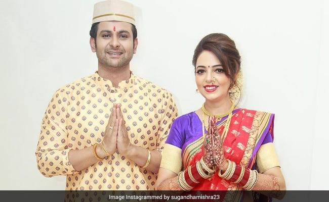 Viral: Sugandha Mishra And Sanket Bhosle's Post-Wedding Rituals. See Pics
