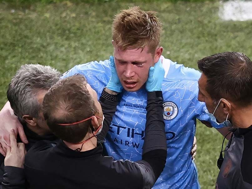 Kevin De Bruyne Faces Race To Make Euro After Facial Fractures