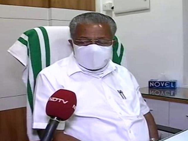 "Video : ""Kerala Has No Place For BJP"": Pinarayi Vijayan Set To Retain Control Of State"