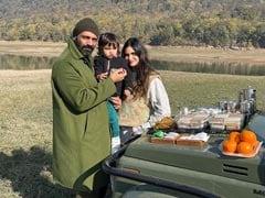 Lockdown Picnic: Arjun Rampal, Gabriella Demetriades And Son Arik's Party Of Three