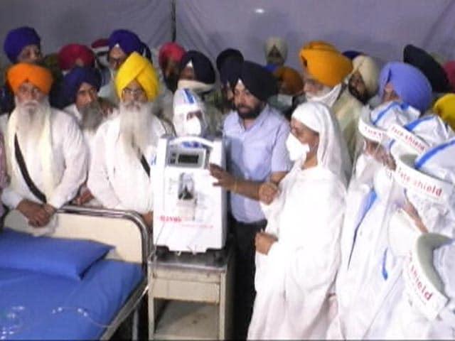 Video : Ludhiana: Covid Care Centre At Gurudwara Manji Sahib