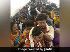 SpiceJet Crew Derostered After Viral Video Of Mid-Air Wedding: Report