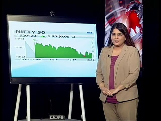 Video : Nifty Settles Above 15,200 Led By Gains In Infosys, Asian Paints
