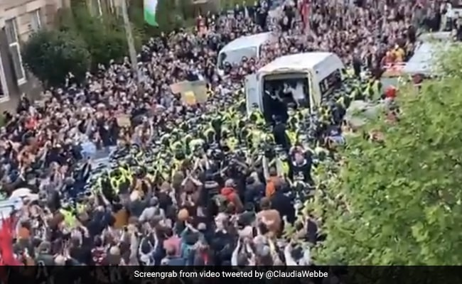 2 Indian Men Freed From Detention Van After 8-Hour Protest In Scotland